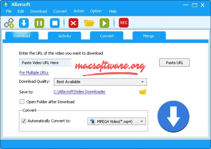 Allavsoft 3.22.8 Crack With License Code Free Download