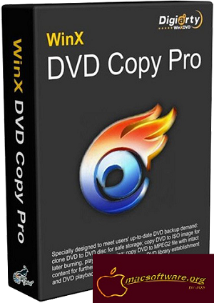 WinX DVD Copy Pro 3.9.3 Crack With License Code Download