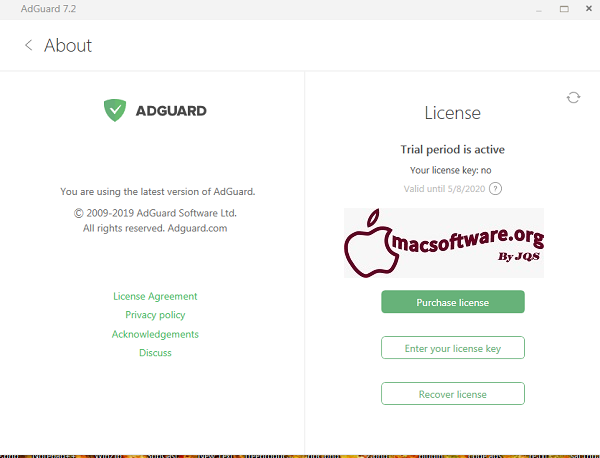 Adguard Crack Premium 7.5 With License Key 2020 Free Download