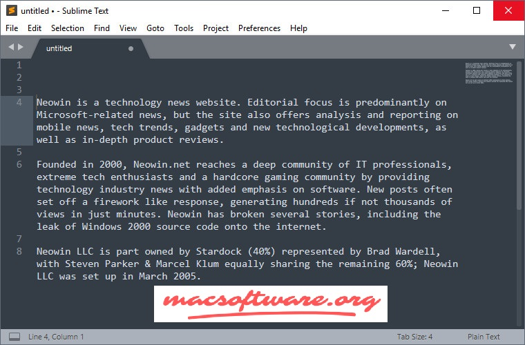 Sublime Text 3.2.2 Crack With License Key Free Download
