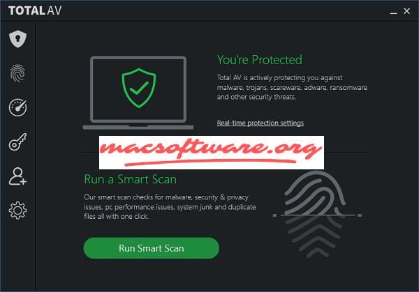 Total AV Antivirus 2020 Crack With Serial Key Free Download