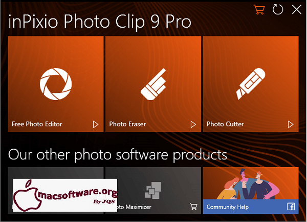InPixio Photo Clip Pro 9.0.2 Crack With Activation Key Free Download
