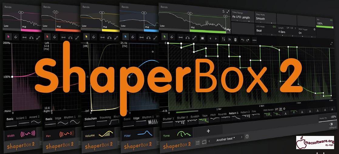 ShaperBox 2 VST Crack Mac Full Free RAR Download