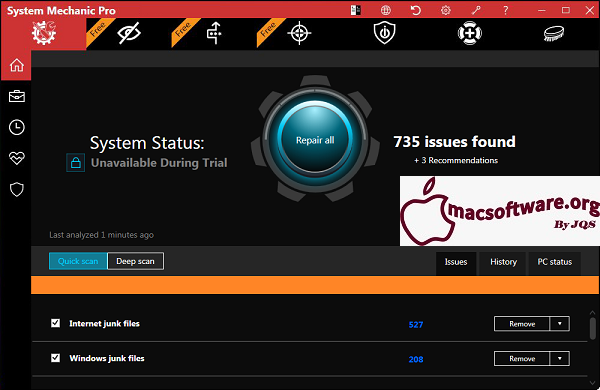 System Mechanic Pro 20.7.0.2 Crack With Activation Key Free Download