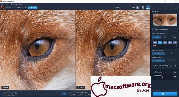 Topaz Gigapixel AI 5.1.7 Crack Mac Free Download