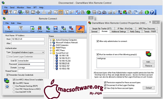 DameWare Mini Remote Control 12.1.1.273 Crack With Keygen Download